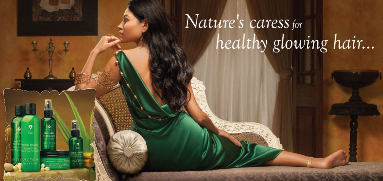Natural care for healthy and shiny hair
